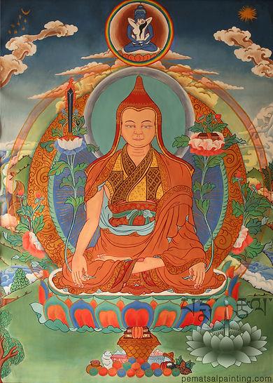 Longchenpa, Longchen Rabjam, Thangka