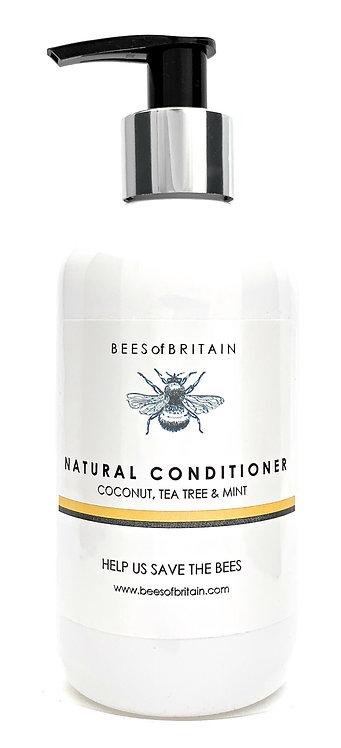 NATURAL CONDITIONER - COCONUT, TEA TREE & MINT - 250ml