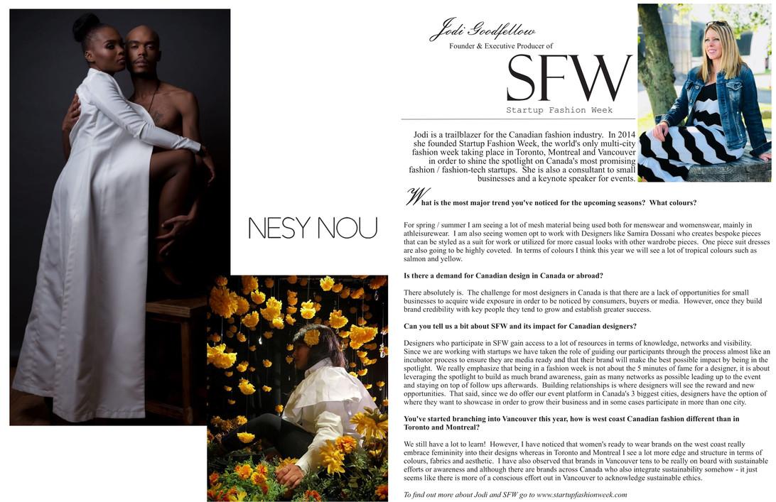 Nesy Nou and Jodi Goodfellow