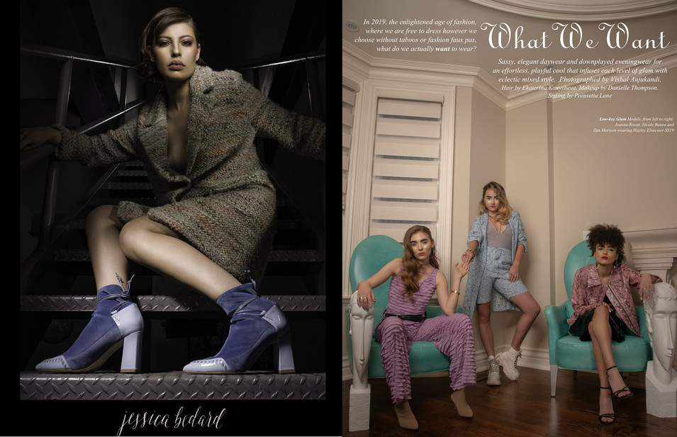 Jessica Bedard & What We Want Editorial