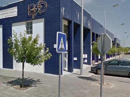 Medidas de autoproteção de empresa de comércio e instalações eléctricas, em Évora