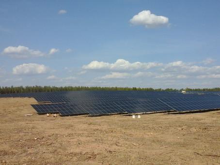 Coordenação de Segurança em Obra na construção de uma Central Solar Fotovoltaica, em Évora