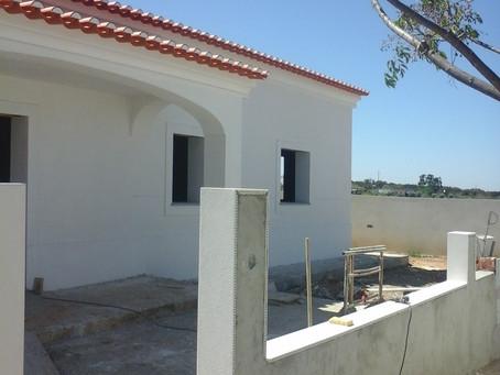 Coordenação de Segurança em Obra na construção de moradia, em Redondo, Évora