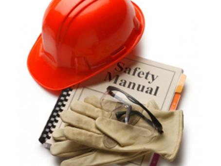 Procedimentos e Instruções de Segurança para o setor da Construção Civil, em Elvas, Portalegre
