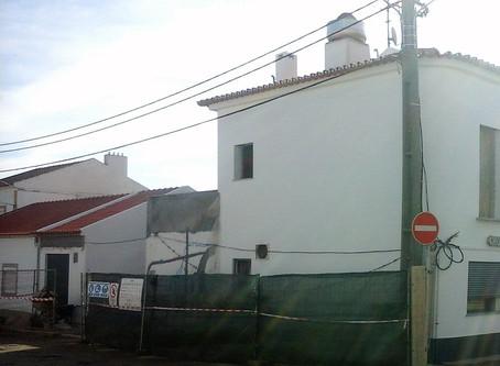 Coordenação de Segurança em Obra na remodelação de edifício para comércio, em Évora