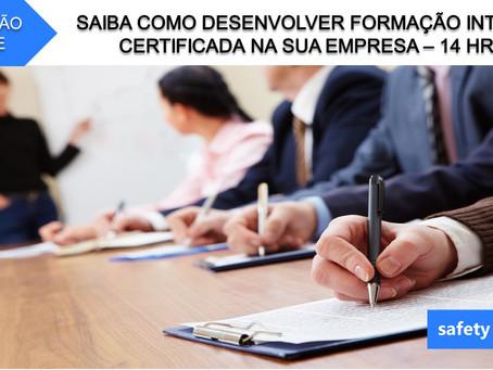 Curso online - Saiba como desenvolver formação interna certificada na sua empresa   14 Hrs