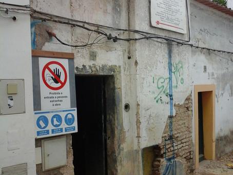Coordenação de Segurança em Obra na alteração e ampliação de edifício existente, em Évora
