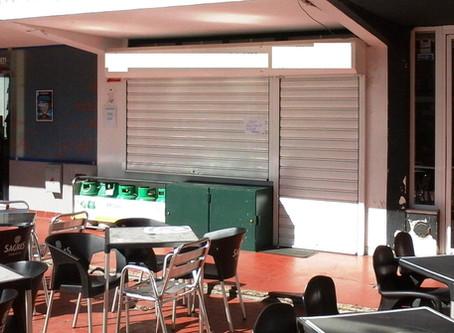 Medidas de autoproteção de estabelecimento comercial, em Elvas, Portalegre