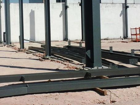 Coordenação de Segurança em Obra na construção de pavilhão industrial, em Vila Viçosa