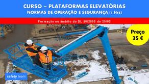 Curso online - Plataformas elevatórias - Normas de operação e segurança    7 Hrs