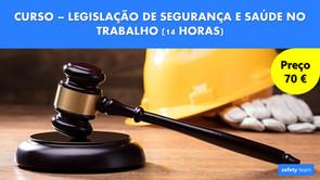 Curso online - Legislação de Segurança e Saúde no Trabalho    14 Hrs