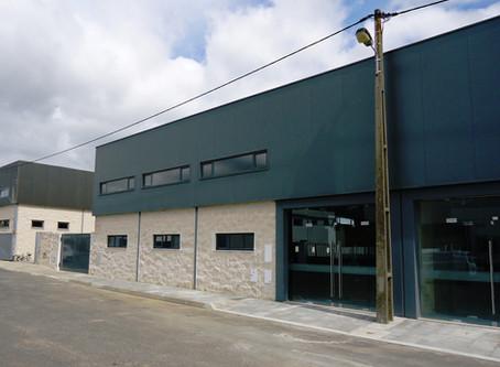 Medidas de autoproteção de dois pavilhões industriais, em Alcáçovas, Évora