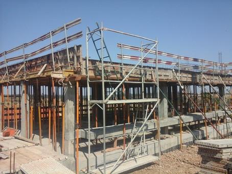 Auditorias técnicas de segurança em obra, na construção de uma moradia, em Fronteira, Portalegre