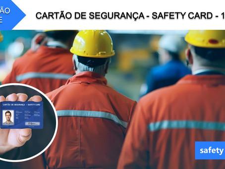 Curso online - Cartão de Segurança - Safety Card   14 Hrs