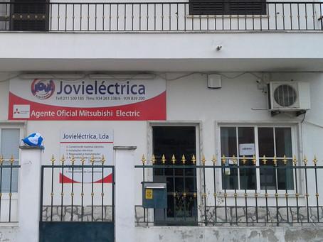 Medidas de autoproteção de empresa de comércio e instalações eléctricas, em Quinta do Conde, Setúbal