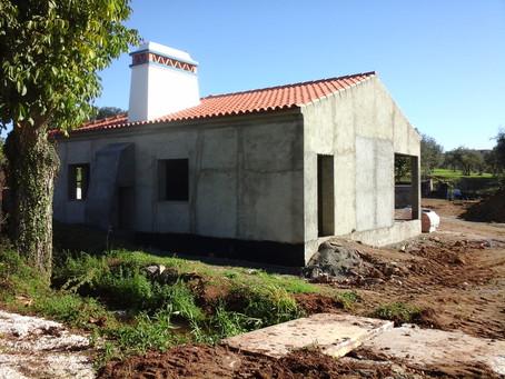 Coordenação de Segurança em Obra na alteração de uma moradia, em Pardais, Vila Viçosa, Évora