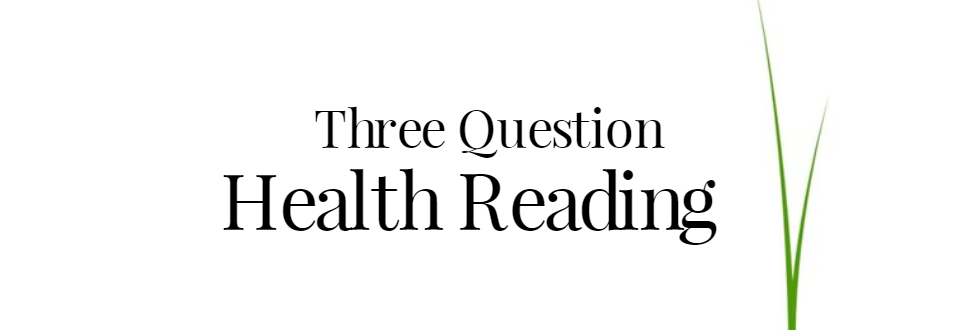 Three Question Health Psychic Reading
