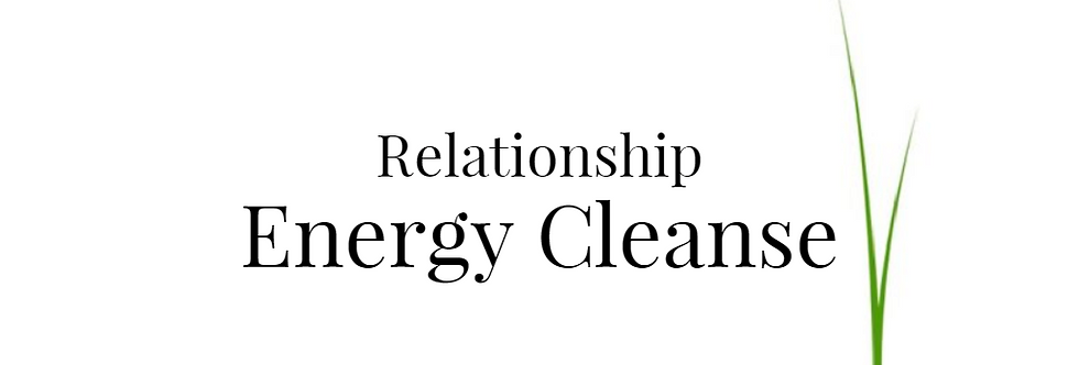Relationship Energy Cleanse