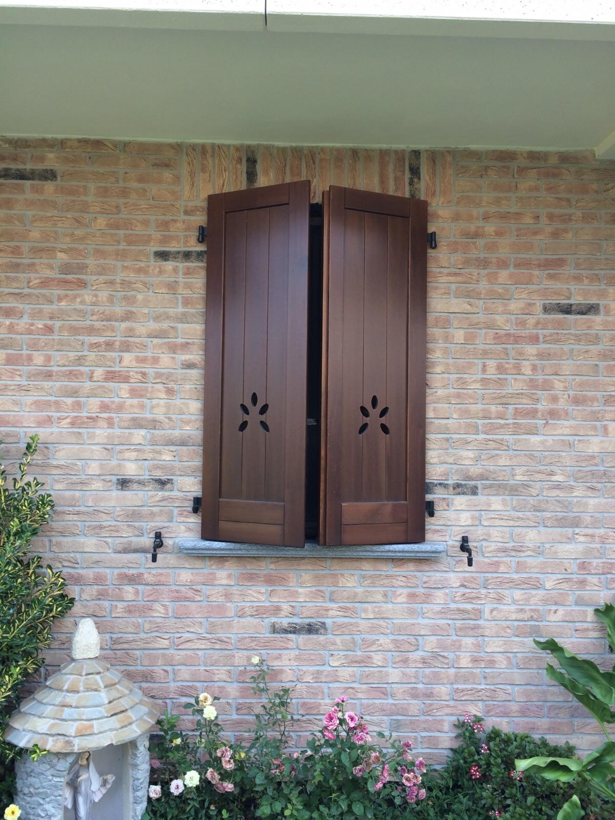 Persiana in legno F&A serramenti