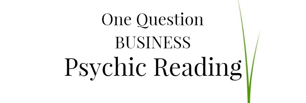 Bir Soru İş Psişik Okuma