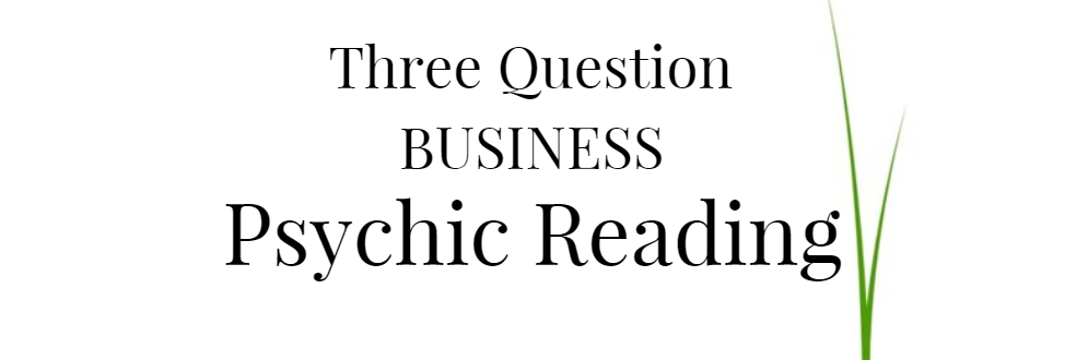 Three Question Business Psychic Reading
