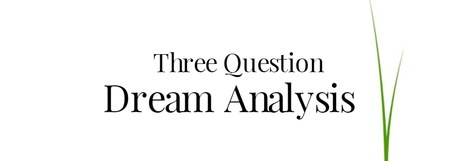 Three Question Dream Analysis Psychic Reading