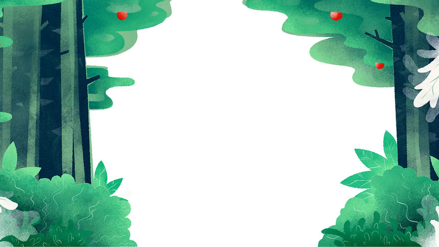 Illustrated Forest Background
