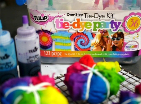 DIY Tie-Dye Party