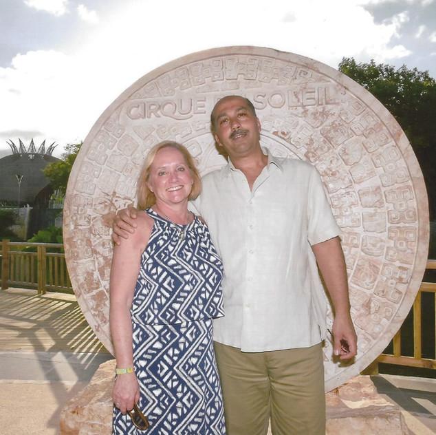 Tony Garofalo and Alison Brown