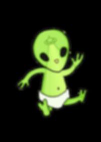 Alien Baby Character