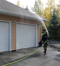 eagle river roof cleaning, roof cleaning services in eagle river, eagle river house washing, eagle river moss removal, moss removal services