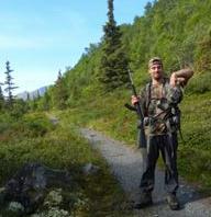 Billy Forsyth hunting trip in Alaska.