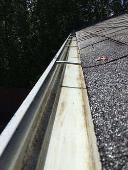We are a company you can depend on to make your rain gutters look great, gutter cleaning, roof cleaning, window washing, house washing