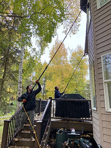 snow blowing, my dryer is not drying, clean dryer vent, mold remediation, black streaking on roof, black staining on roof, shingle roof moss removal, metal roof cleaning, how to clean shingle roof, eagle river snow removal, snow removal services in anchorage, snow removal service near me,