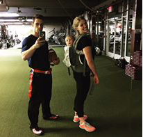 We love fitness at Spit Shine.