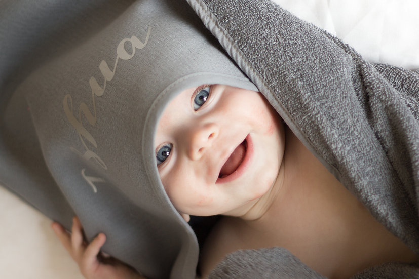 Personalised Hooded cotton towel