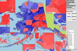 Alaska Presidential Results by Precinct