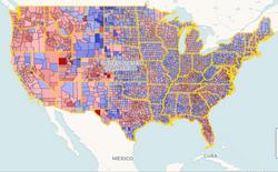 Population Change Maps