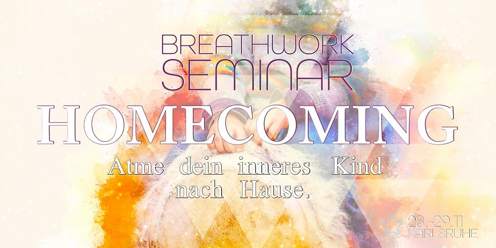 Breathwork Seminar:  Atme dein inneres Kind nach Hause - Karlsruhe