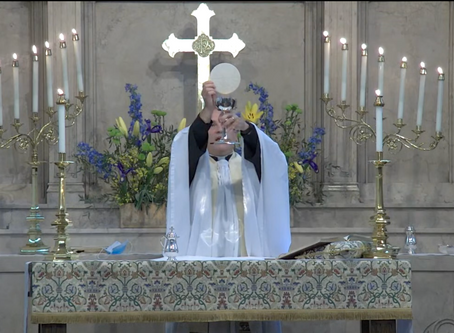 Holy Eucharist for the 14th Sunday after Pentecost (9/6 at 10:45 a.m.)