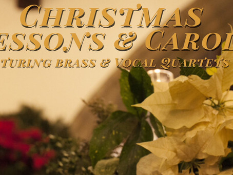 Christmas Eve Service of Nine Lessons and Carols (12/24 at 5:30 p.m.)