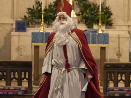 Holy Eucharist for the Second Sunday of Advent ... Plus a Very Special Bishop (12/6 at 10:45 a.m.)