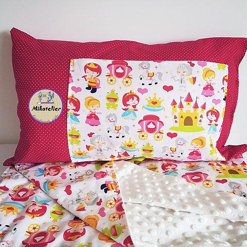 Set Princess - perna cu buzunar pentru carte si paturica
