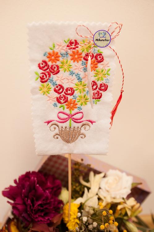 Martisor - cos cu flori