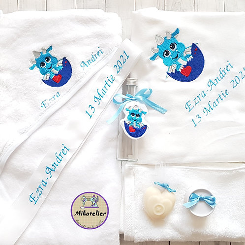 Trusou botez  personalizat baby dino