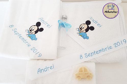 Trusou botez personalizat Baby Mickey