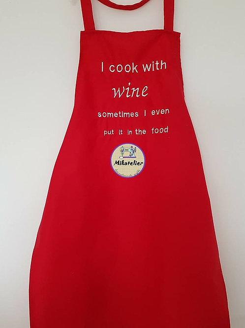 Sort de bucatarie <I cook with wine>