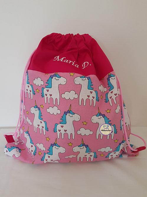 Rucsac cresa/gradinita unicorni roz