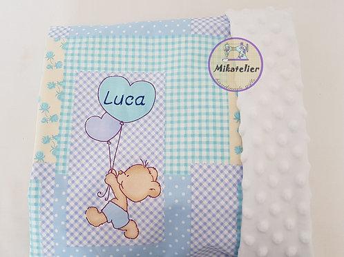 Paturica copil- ursuleti si baloane