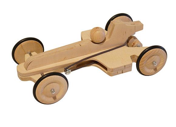 voiture élastique bois formule1 fabriquer creative motricite jouetbois manufactureenfamille madeinfrance